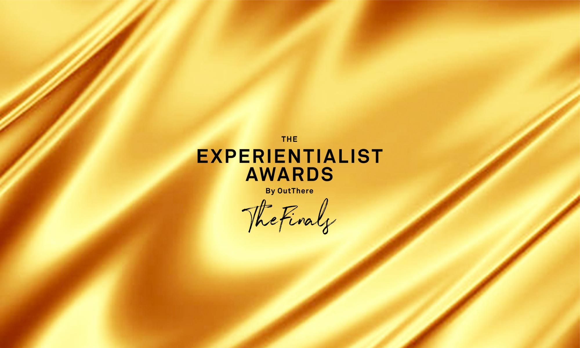 The Experientialist Awards by OutThere